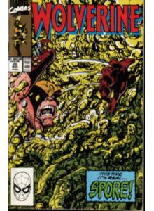 Comics 1990-03 Wolverine 22