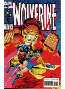 Comics 1993-10 Wolverine 74