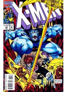 Комикс 1994-07 X-Men 34