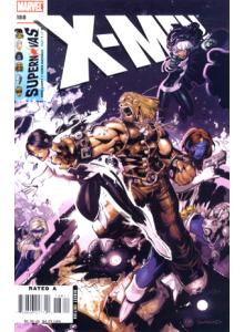 Комикс 2006-09 X-Men 188