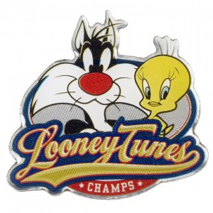 Enamel Pin Badge Sylvester and Tweety