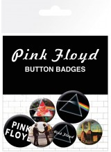Комплект Значки Pink Floyd