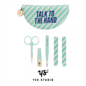 YST183 Manicure Set - Talk to the hand